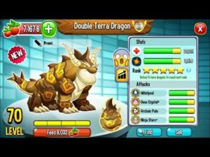 dragon city double terra dragon