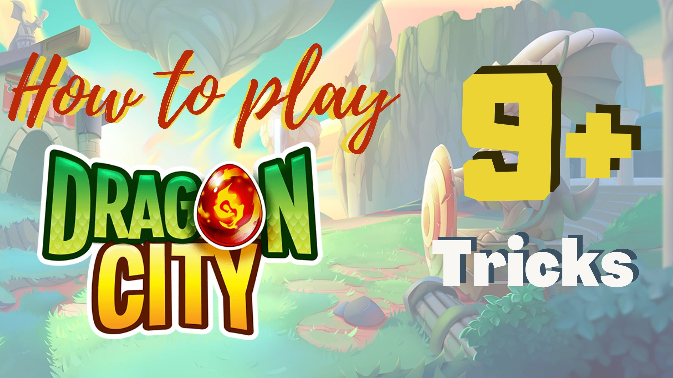 how to play dragon city
